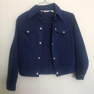 Vintage Levi's jacket blue small